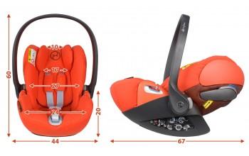 Cybex Cloud Z i-size обзор кресла